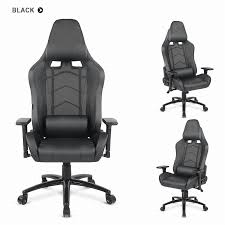 ikayaa gaming executive office chair computer chair recline height