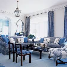 blue and white living room ideas for blue and white living