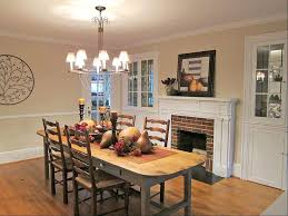 formal dining room with fireplace wall covering details in