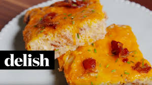 cheddar hash brown casserole delish youtube