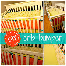 diy crib bumpers with piping and ties diy crib pipes and babies