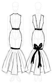 dress sketch u2013 miriama gossow