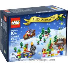 christmas sets lego exclusives sets employee gift 4000013 a lego christmas tale new