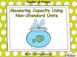 measuring capacity using non standard units animated powerpoint