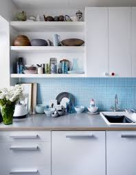 35 bright ideas for incorporating open shelves in kitchen