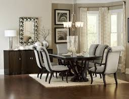 Two Pedestal Dining Table 7 Pc Savion Collection