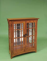Cherry Wood Curio Cabinet Curio Cabinet Small Curiobinet Curvy Front With Cherry Finish