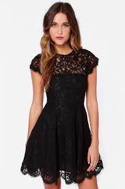 black lace dress bb dakota rylin dress black dress lace dress 103 00