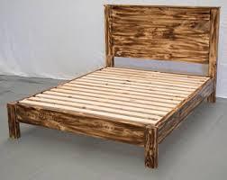 Platform Bed Modern Modern Platform Bed Etsy