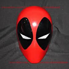 Deadpool Halloween Costume Wearable Halloween Costume Mask Movie Cosplay Deadpool Helmet
