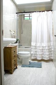 Anthropologie Ruffle Shower Curtain by Image Of Burlap Shower Curtain With Bullion Fringe Ruffle Shower