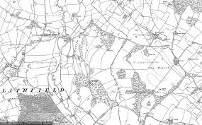 hurst map maps of newton hurst francis frith