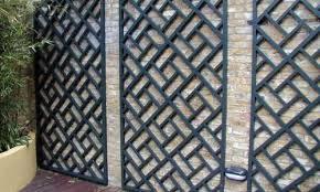 Diamond Trellis Panels Painted Classic Bespoke Trellis Panels Wooden Fence Trellis