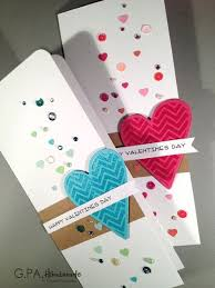 Designs Of Making Greeting Cards For Valentines Adorable Valentines Day Handmade Card Ideas Pink Lover