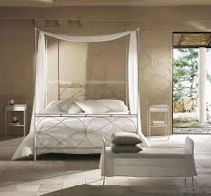 letto baldacchino letto singolo a baldacchino con saldature levigate a mano idfdesign