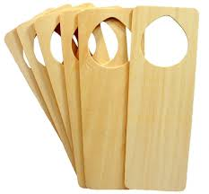 creative hobbies wood door knob hangers ready to