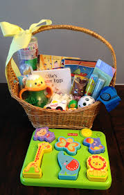 easter baskets for babies forget the candy and try these awesome easter basket ideas instead