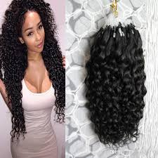 curly extensions remi loops color micro loop curly hair extensions