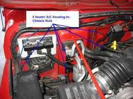 how to replace the heater core on a jeep wrangler tj jeep