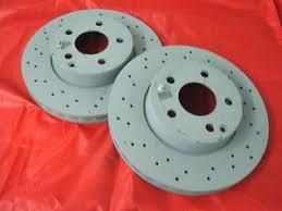 mercedes c class brake discs genuine mercedes w204 c class front vented amg brake discs