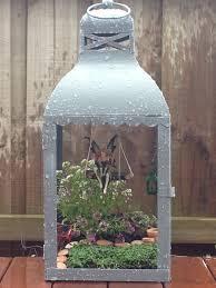 Pinterest Fairy Gardens Ideas by My Fairy Garden In A Lantern Fairy Garden Pinterest Fairy