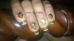 nail the art egyptian drama queen nails