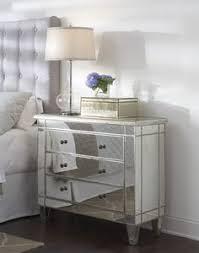 Pier One Mirrored Nightstand Hayworth Mirrored Furniture Collection Hayworth Dresser