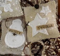 country burlap ornaments pdf pattern prim