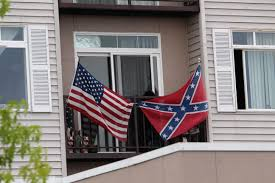 Us Confederate Flag Is Downtown Everett Apartment Renter U0027s Flag Display An Issue