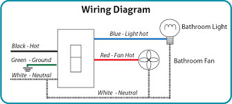 nutone bathroom fan light wiring diagram wiring diagram and