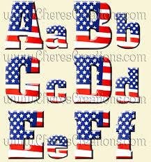 red white u0026 blue flag digital alphabet free numbers chere u0027s