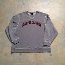 polo by ralph lauren vintage polo ralph lauren sweatshirt from