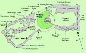 floor plan of windsor castle windsor castle map the royal windsor web site