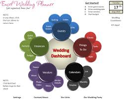 online wedding planner free excel wedding planner template today chandoo org