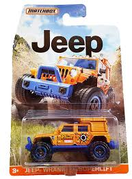 jeep matchbox amazon com matchbox jeep wrangler superlift orange toys u0026 games