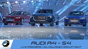 audi dealership design audi a4 s4 live volkswagen group night iaa 2015 frankfurt