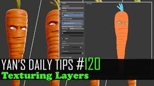 yan u0027s daily tips 120 texturing layers blender tutorial youtube