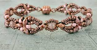beading bracelet patterns images Linda 39 s crafty inspirations free beading pattern elinor bracelet jpg