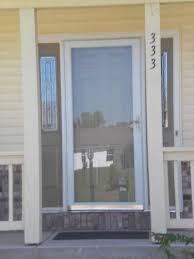 storm door window replacement project photo gallery efficient windows u0026 doors of indiana