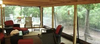 vinyl outdoor curtains screened porch 8 diy vinyl patio curtains