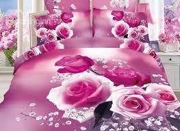 Pink Rose Duvet Cover Set 48 Best Bed Of