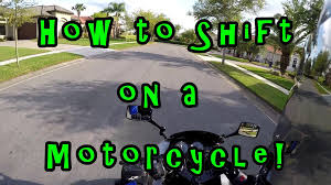 tutorial how to shift gears on a motorcycle bike kawasaki ninja