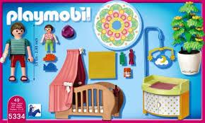 playmobil babyzimmer de playmobil 5334 zauberhaftes babyzimmer