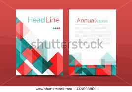 3d geometric shapes design a4 cover stock illustration 446099755
