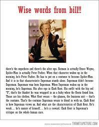 Kill Bill Meme - well said bill the meta picture
