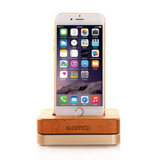 Iphone 5 Desk Stand by Wood Iphone Stand Wood Holder Wood