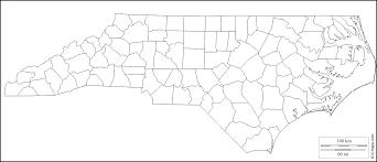 North Carolina Maps North Carolina Free Map Free Blank Map Free Outline Map Free