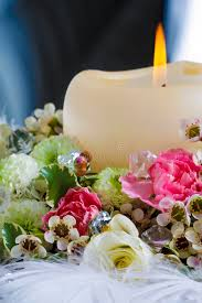 table decorations with candles and flowers wedding table decoration with candle and beautiful flowers stock