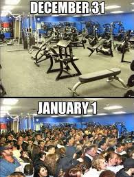 New Years Gym Meme - why signing up for a gym in spokane is not the solution for your