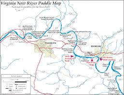 River Map Paddle Maps U2013 New River Water Trail